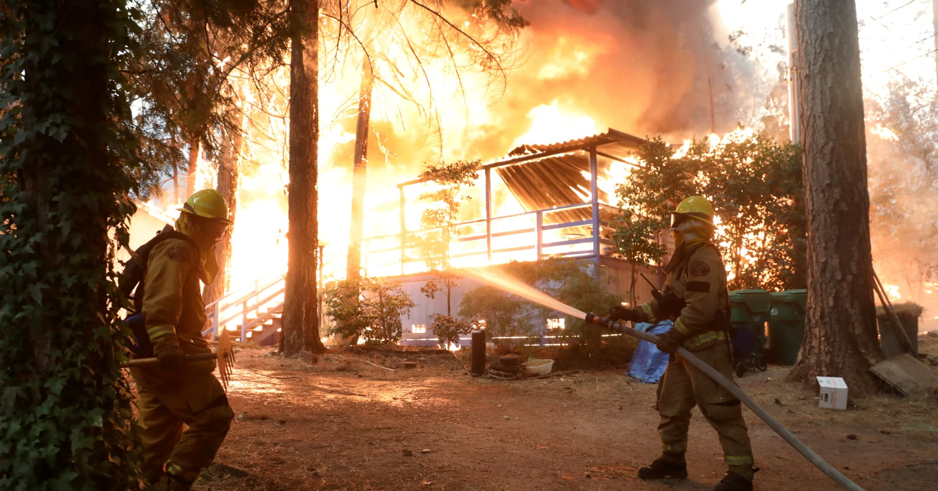 This Building Material Could've Saved California Houses from Fires, but it's Rarely Used in the US