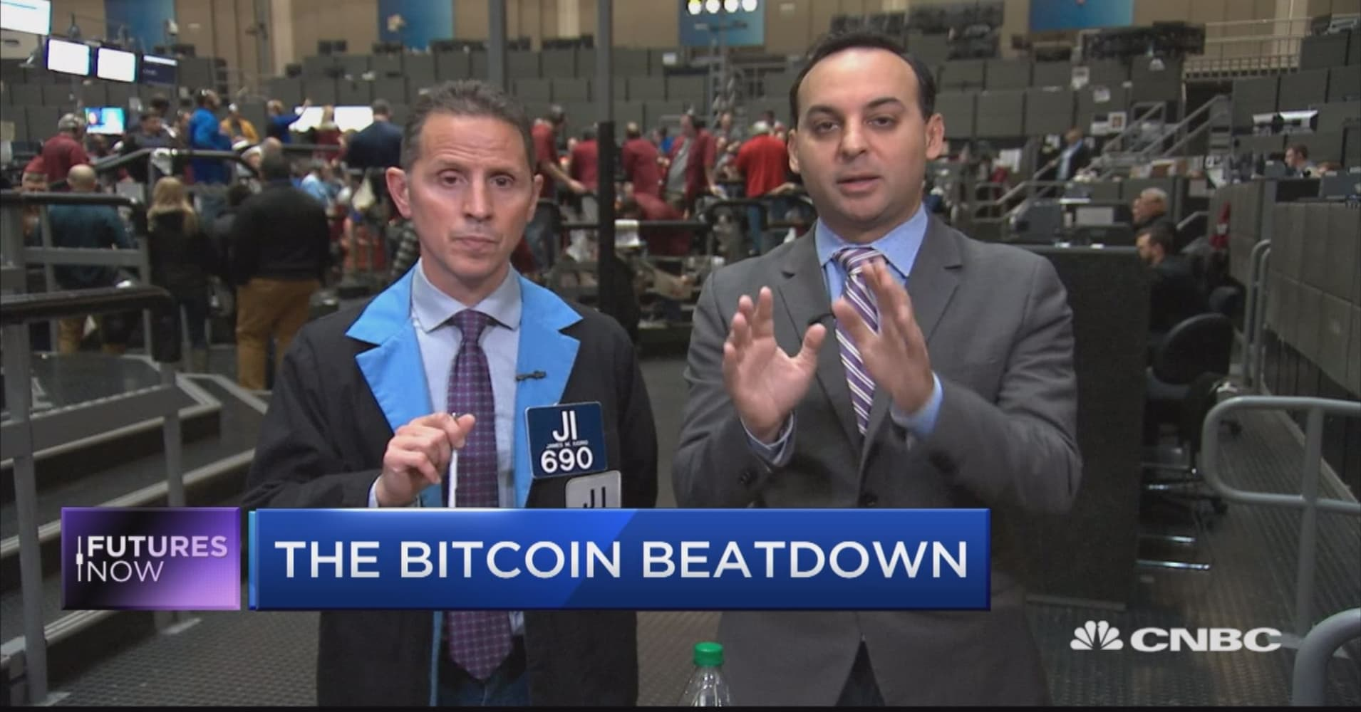 Bitcoin is getting hammered, and trader says it could break $5,000