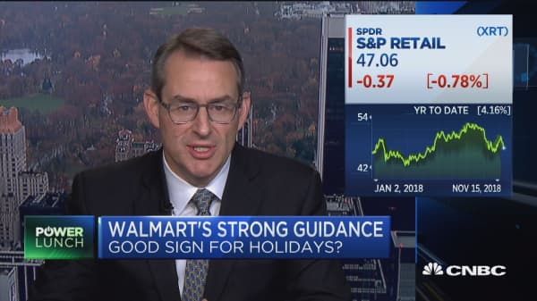 Does Walmart's strong guidance bode well for the holidays