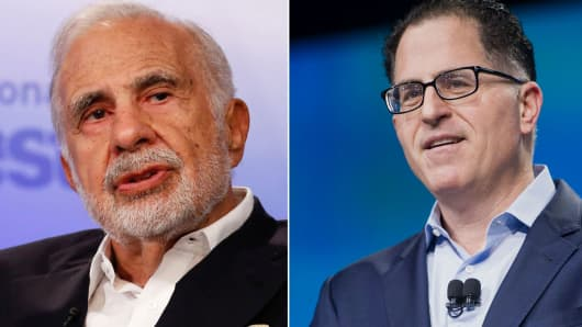 Carl Icahn and Michael Dell