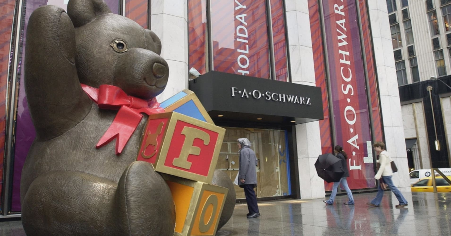 Iconic toy store FAO Schwarz returns to New York City