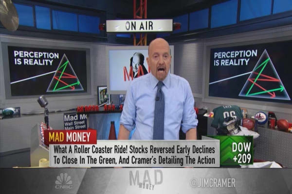 Cramer: This market's perception is skewed to the point where stocks aren't necessarily safe