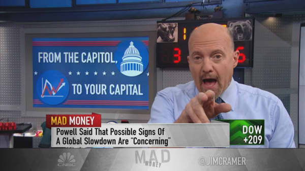 Cramer says CEOs are telling him off the record the economy has quickly cooled