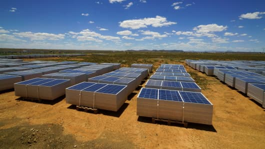 Scatec Solar produces electricity from solar power projects around the world.