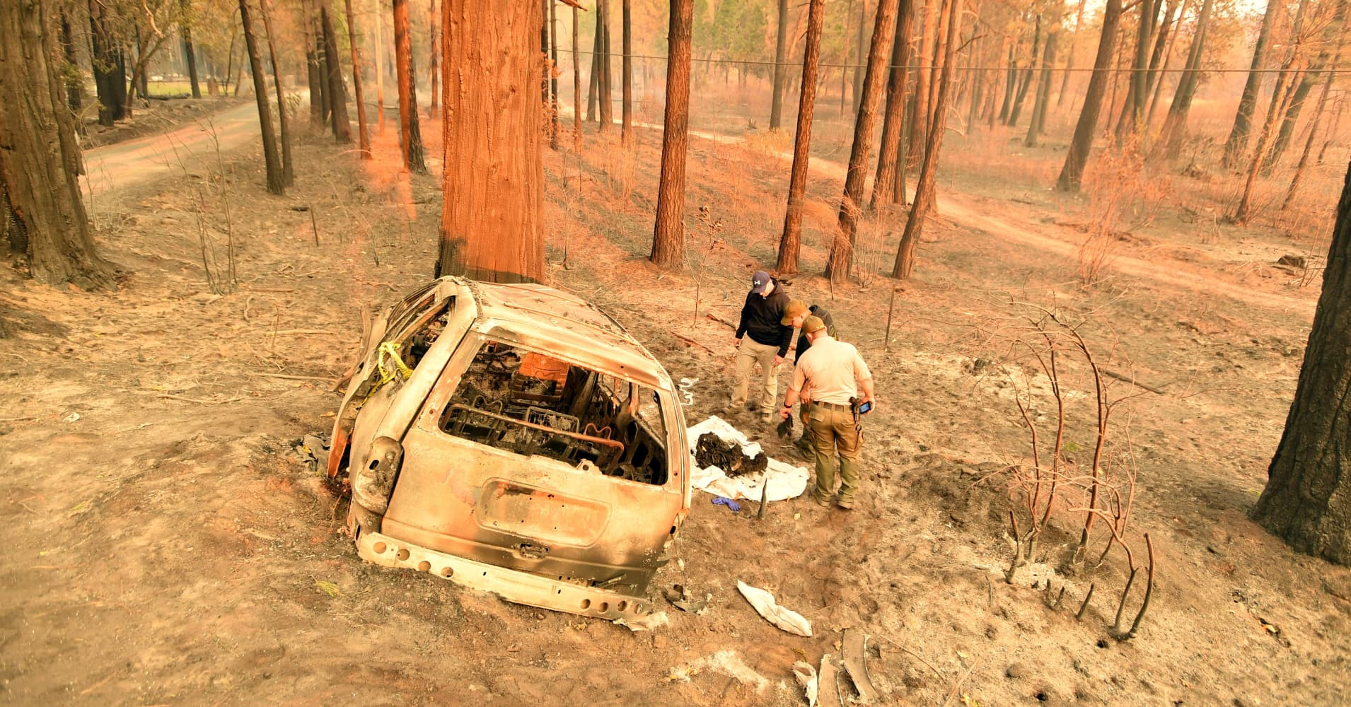PG&E could face charges in California wildfires