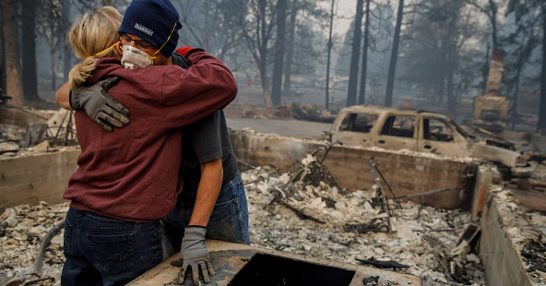 Photos of a town reduced to ashes by California's deadly Camp Fire