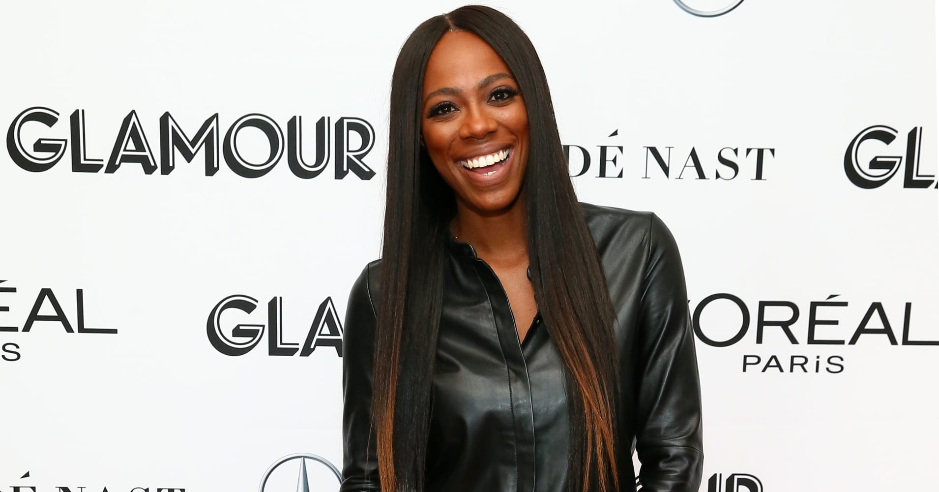 Yvonne Orji attends 2018 Glamour Women Of The Year Summit:  Women Rise at Spring Studios on November 11, 2018 in New York City.