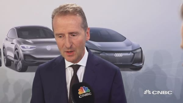 VW CEO: We will be most profitable electric car firm