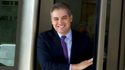 Image result for Federal Judge restores CNN reporter Jim Acosta's White House press pass