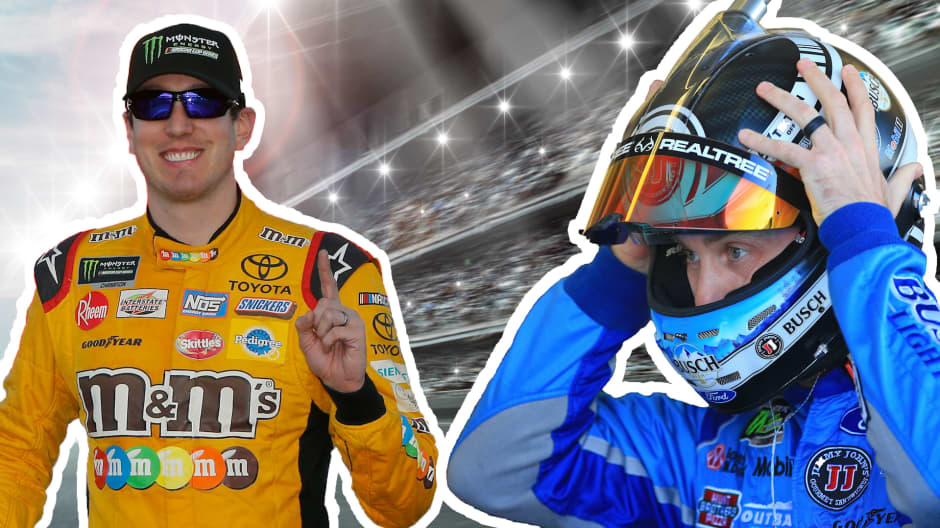 What Kyle Busch, Kevin Harvick and other NASCAR stars did with their first big paycheck