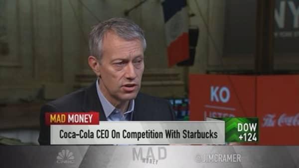 Coca-Cola's coffee, cannabis strategy