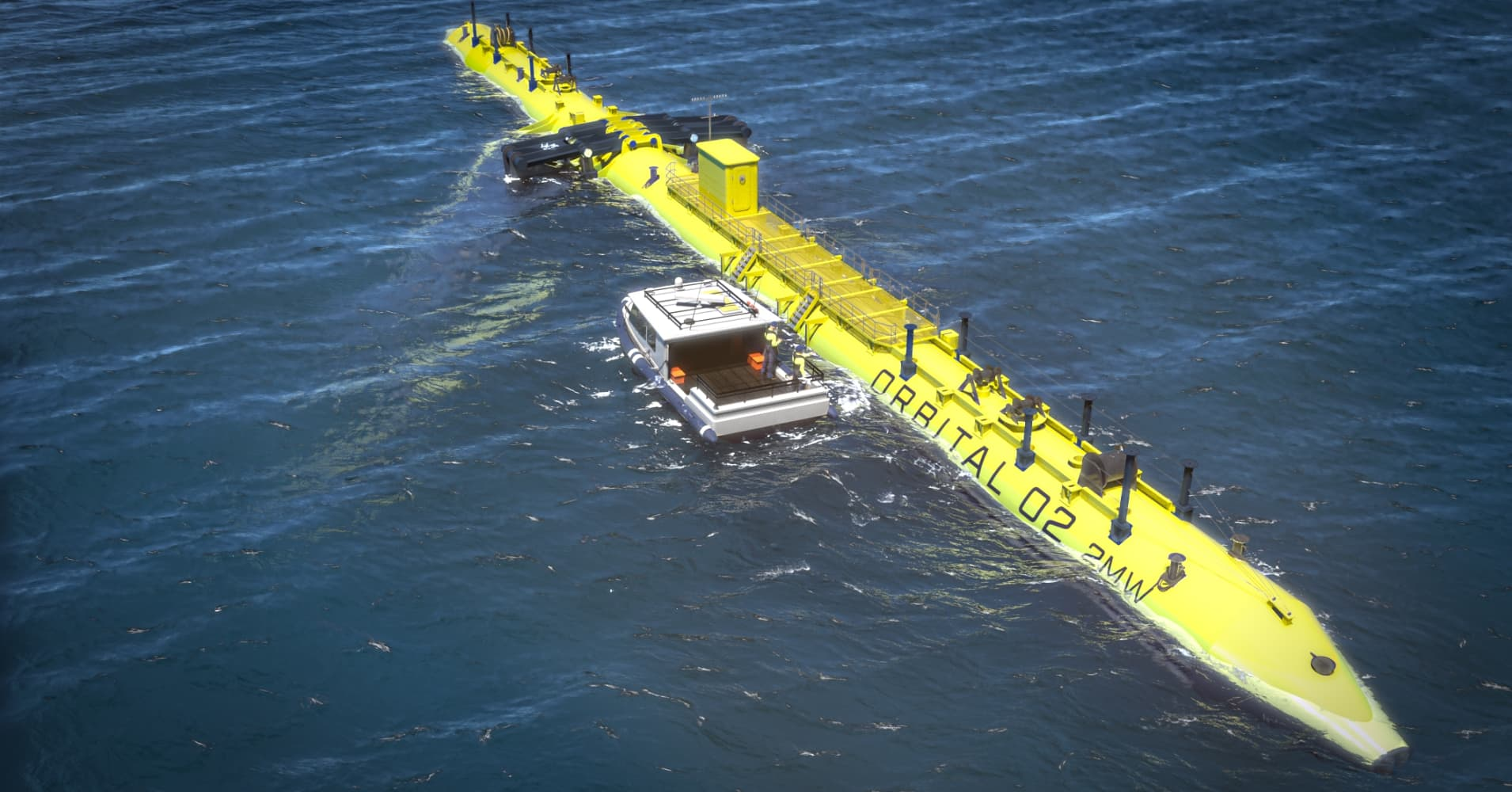 World's 'most powerful tidal generating turbine' set to be demonstrated in waters off Wales