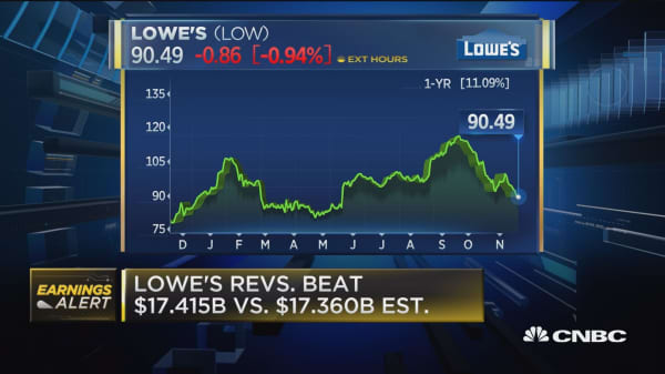 Lowe's has a lot of blocking and tackling to do, says Oppenheimer's Nagel