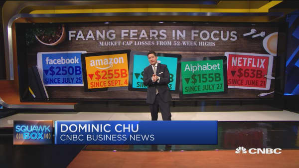 FAANG fears in focus