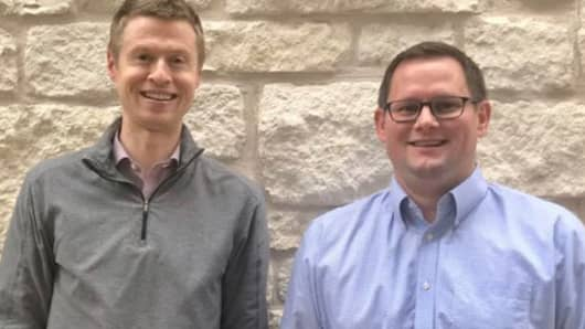 Wikibuy Co-CEOs, Walt Roloson & Adam Gauvin.