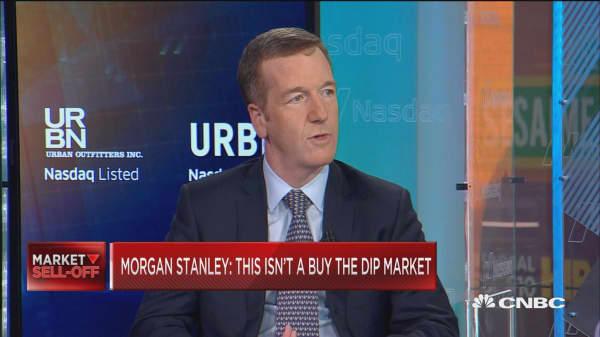 Don't buy this dip, says Morgan Stanley's top strategist