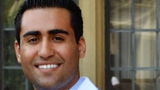 Sameer Berry, a gastroenterologist-in-training