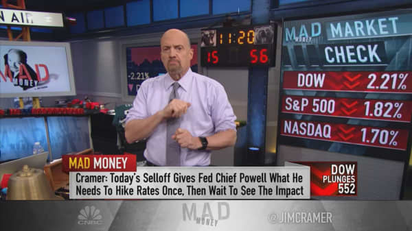Cramer: Powell now has 8 reasons to pause the Fed's rate hikes after December