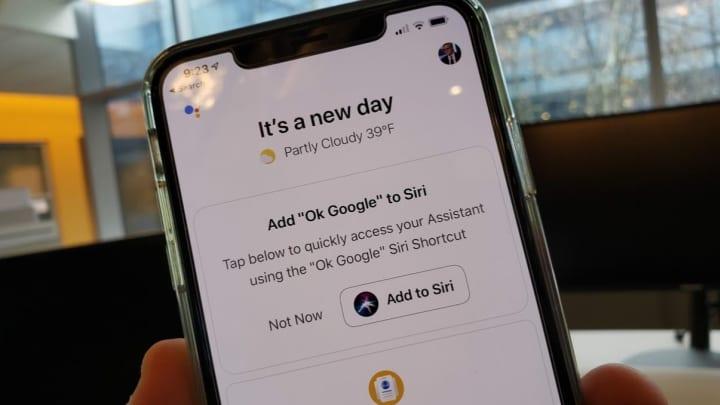 "Add ""OK Google"" to Siri Shortcuts"