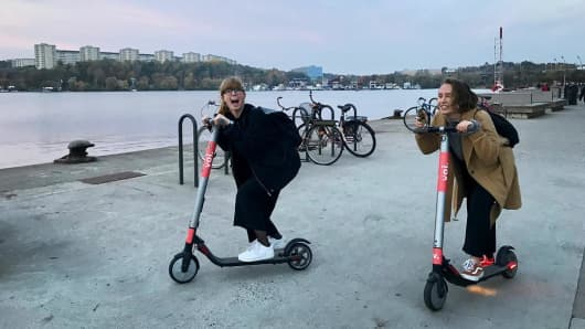VOI is a Scandinavian green mobility company offering electric kick scooter sharing in partnership with cities and local communities.