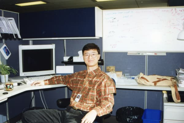 Robert Wang working for Canadian telecom Nortel in 1997.