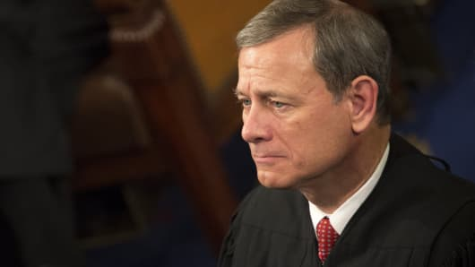Chief Supreme Court Justice John Roberts