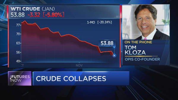 Crude could hit $50 before rebounding: OPIS' Tom Kloza