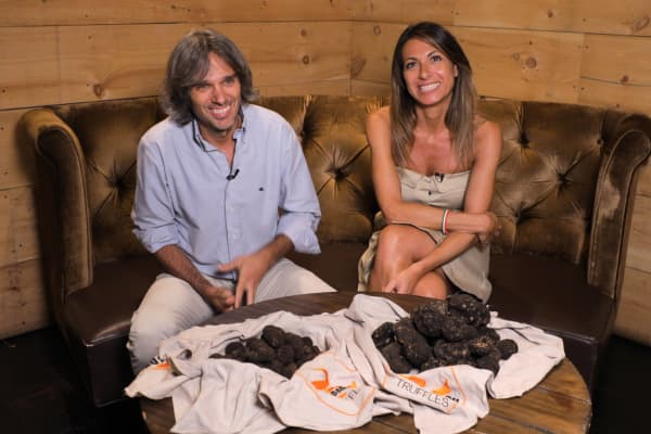 """Yeah, [truffles] are expensive, but we are talking about the diamonds of gastronomy,"" Francesca Sparvoli, co-owner of truffle distribution company Done4NY tells CNBC Make It."