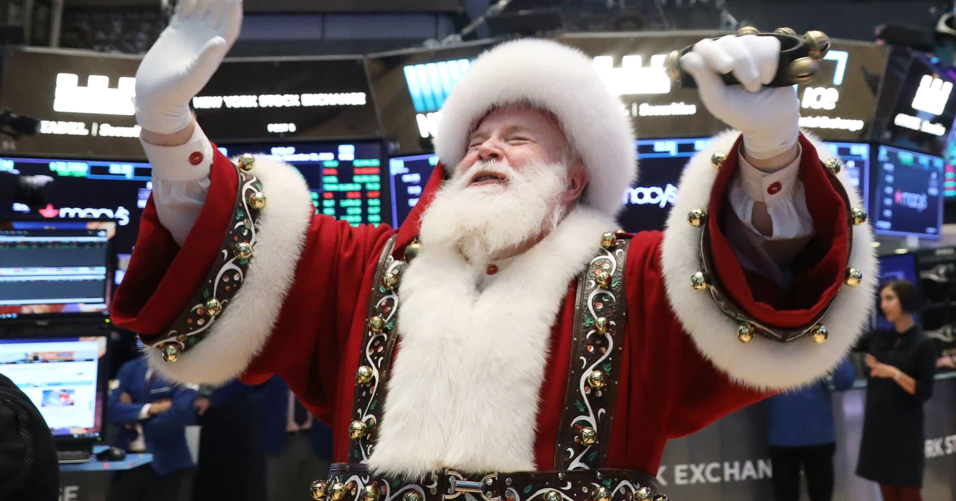 Can markets have a jolly festive season?