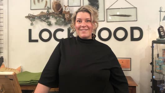 Small business owners like Mackenzie Farquer are gearing up for Small Business Saturday, when shoppers are encouraged to patronize small, local retailers.