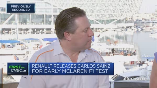 McLaren Racing CEO: We're on a road to recovery