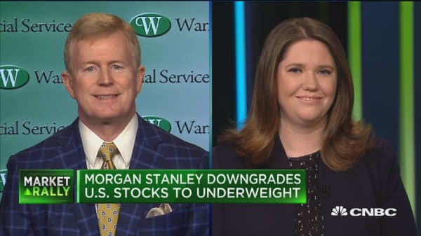 Morgan Stanley's downgrade of US stocks is late in the game, says Warren Financial Service CIO