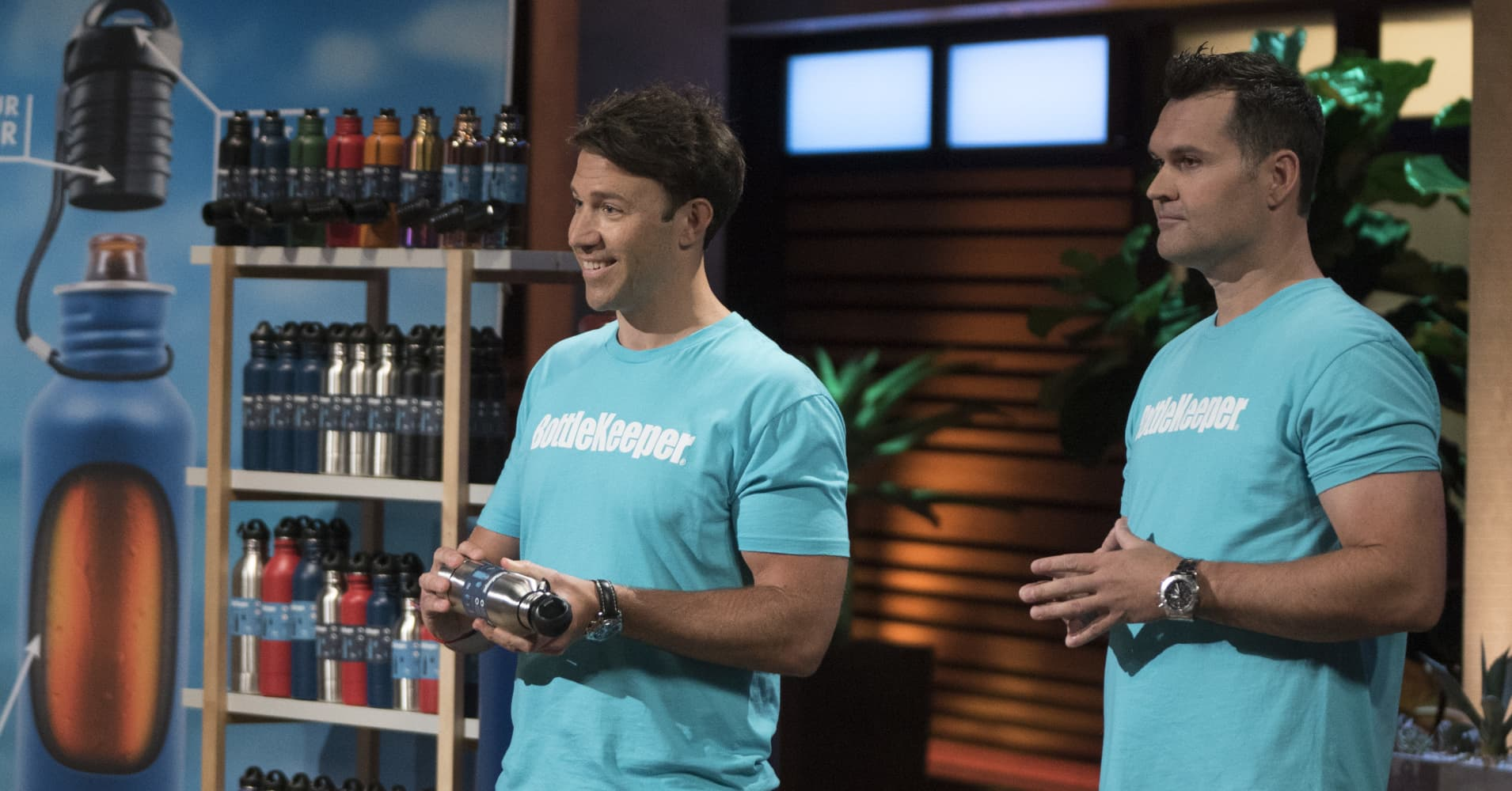 Bottlekeeper keeps beer cold, won million-dollar deal on 'Shark Tank'