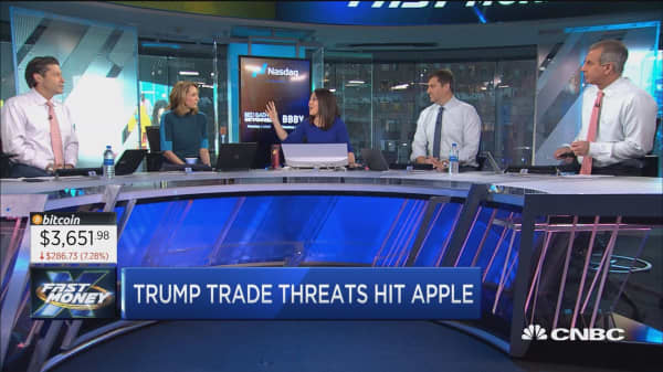 More bad news for Apple as Trump pounds the table on China tariffs