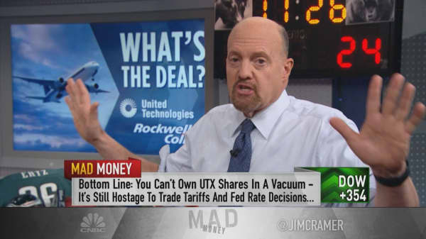 Think before you buy United Technologies on Rockwell deal: Cramer