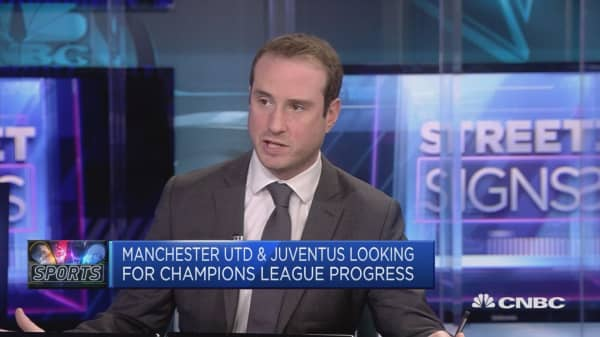 Manchester United preparing for anticipated Champions League match