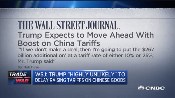 Trump: China has to treat us fairly