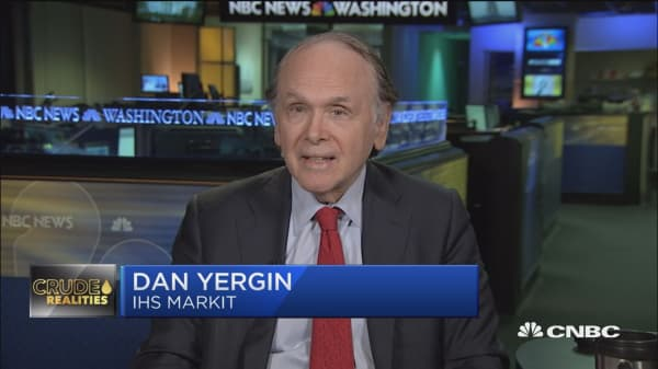 The longs are all gone for oil, says IHS Markit's Yergin