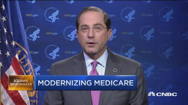 HHS Secretary on medicare and lowering drug prices