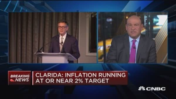 Clarida: Rate hikes still necessary