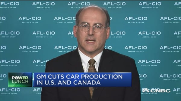 AFL-CIO's policy director on General Motor's decision to lay off thousands