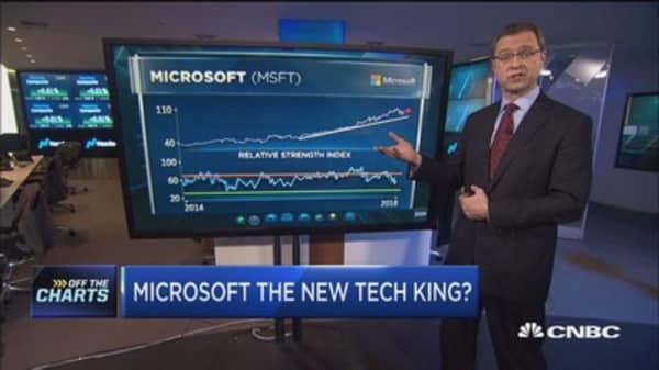 Technician says Microsoft could be the new king of tech
