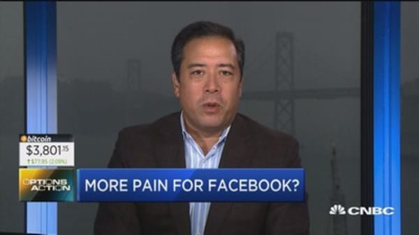 Options traders place bearish bets on Facebook