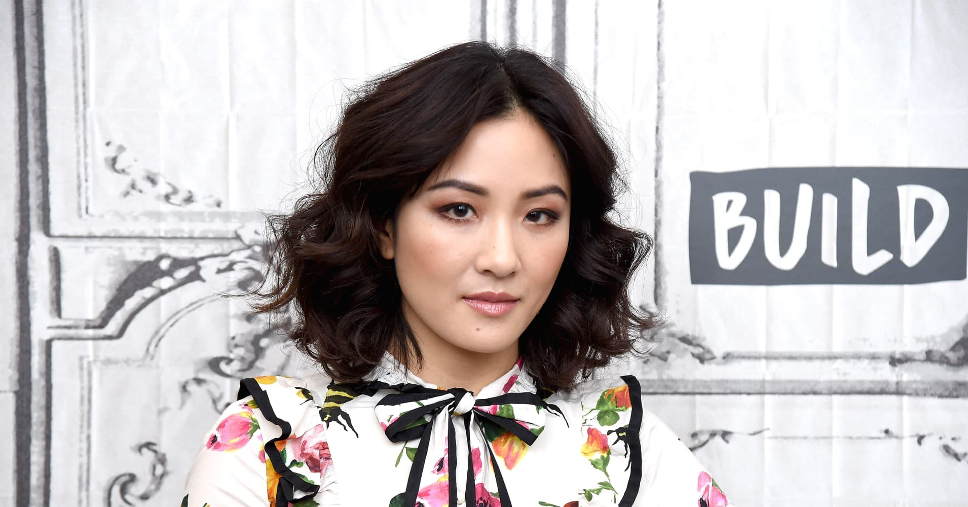 Actress Constance Wu visits Build Series to discuss the TV show 'Fresh Off the Boat' in New York City.
