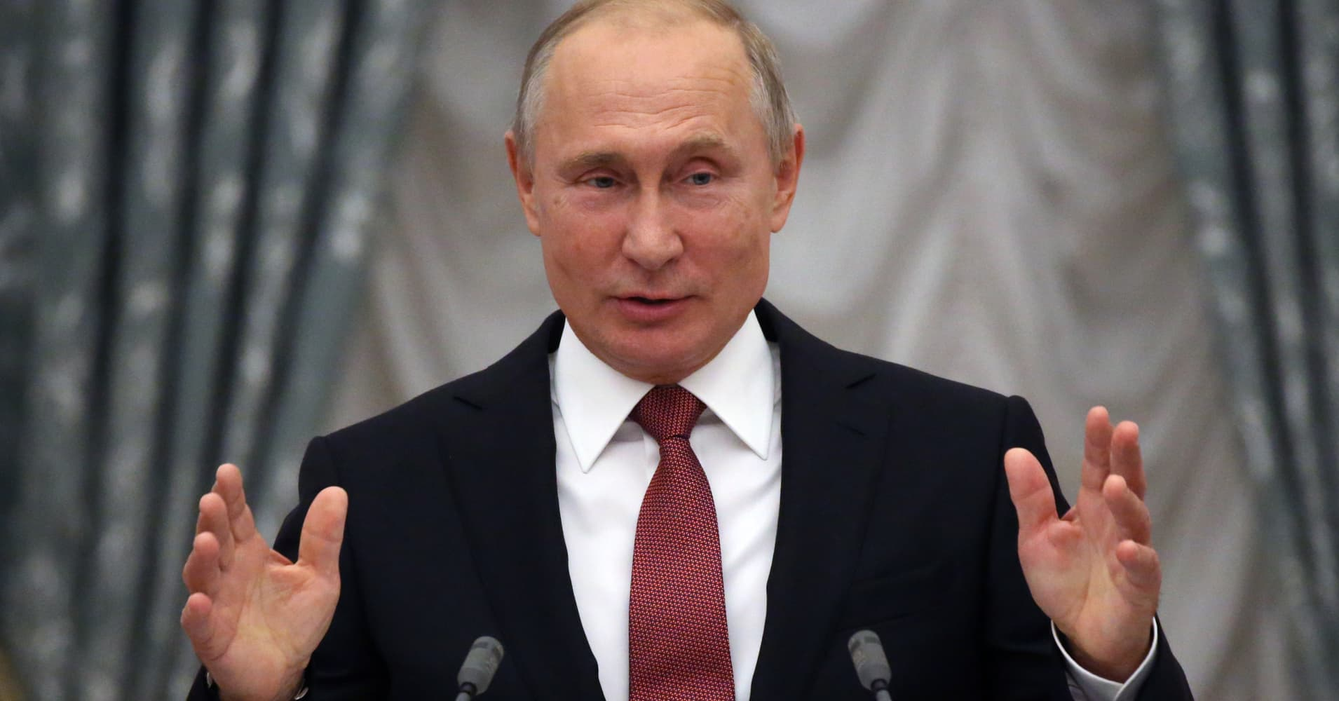 Putin says Ukraine provoked Russia into ship seizure as part of a 'dirty game'