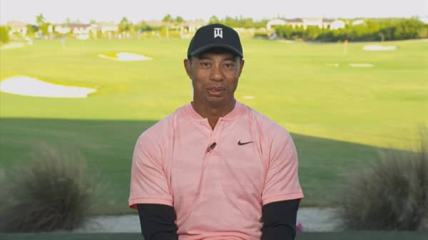 Watch CNBC's full interview with Tiger Woods