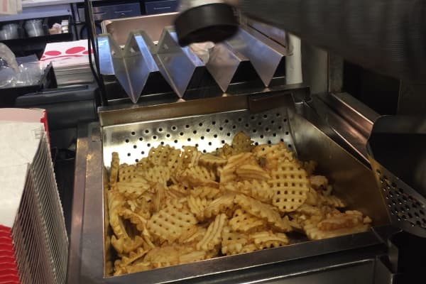 The most craveable menu item: waffle fries