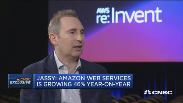 We are still in the early stages of cloud computing adoption, says Amazon Web Services CEO