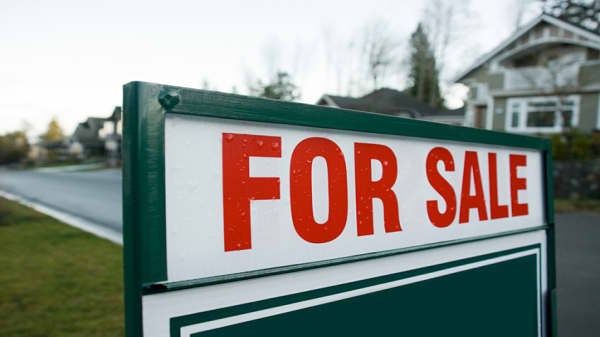 New home sales down 8.9 percent for the month