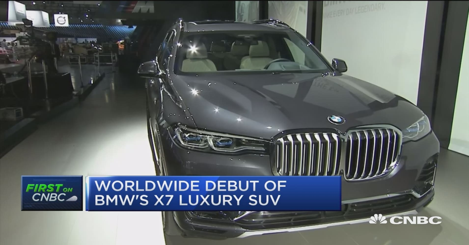 BMW debuts X7 luxury SUV